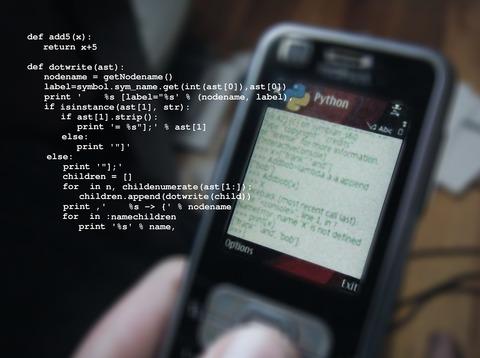 Python on mobile