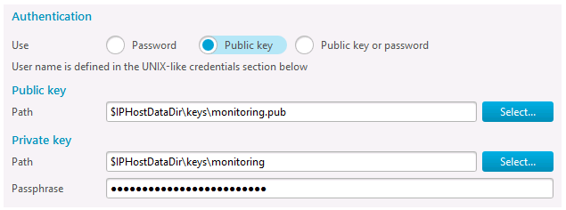 Setting SSH key access